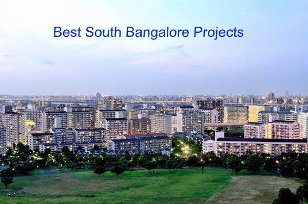 BEST PROJECTS IN SOUTH BANGALORE