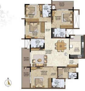 Prestige Brooklyn Heights Floorplan
