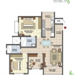 Prestige Song of the South 2.5 BHK 1374 Sft